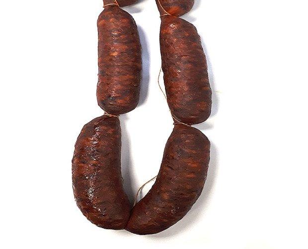 Chorizo ahumado. El mejor sabor