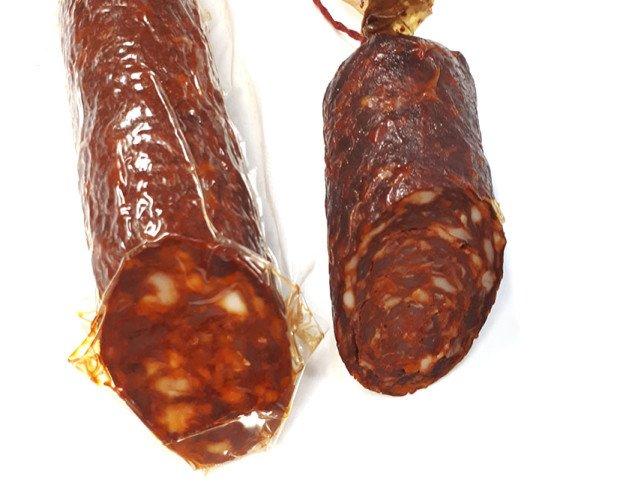 Chorizo extra. Producto artesanal