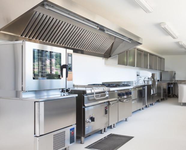 Cocinas industriales. Aprovechamos el espacio