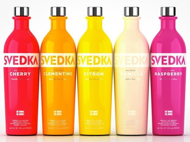 Svedka Vodka. Vodka
