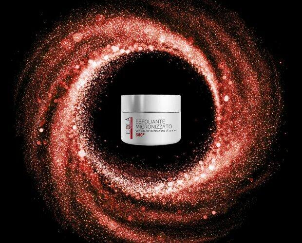 Exfoliante corporal micronizado. La alta concentración de gránulos hace que este exfoliante sea particularmente activo