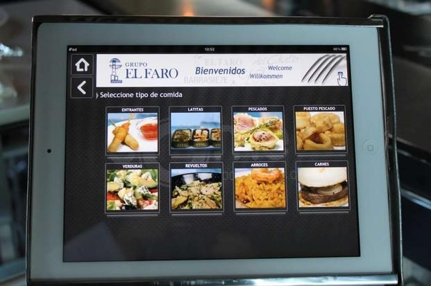 Tablet 10. Carta Virtual comeporlosojos.com