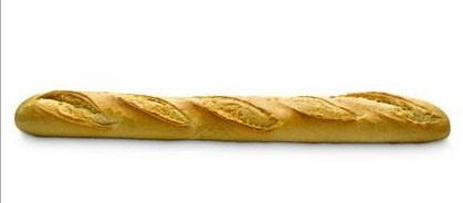 Pan congelado. Parisienne