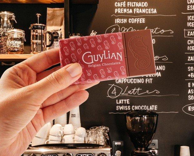Tabletas de Chocolate.Nuevas tabletas Guylian