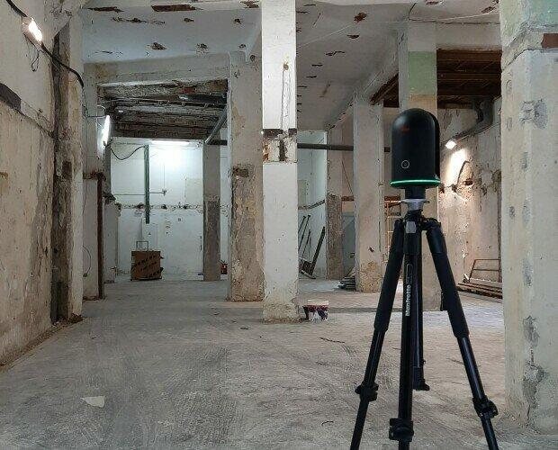 Escaneo 3D. Damos todo tipo de soluciones láser escáner para tus trabajos de arquitectura, etc.