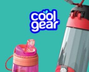 CoolGear. Botellas reutilizables homologadas, prácticas y divertidas.