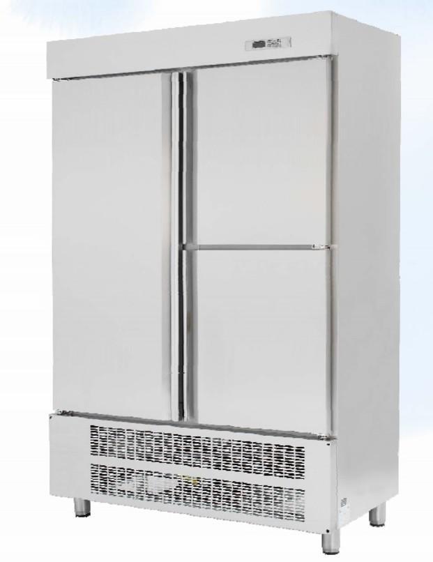 Armario Refrigerador.Realizado en acero inoxidable