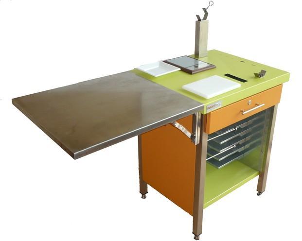 Mesas de Trabajo.Mesa jamonera profesional para corte jamón y queso