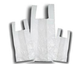 Bolsas de Basura.Distintos tamaños y galgas de bolsas de camiseta.