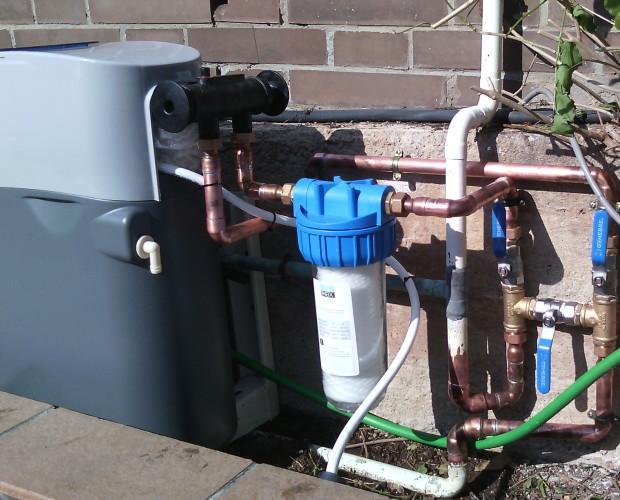 Sistema para el tratamiento de agua. Ergo 7