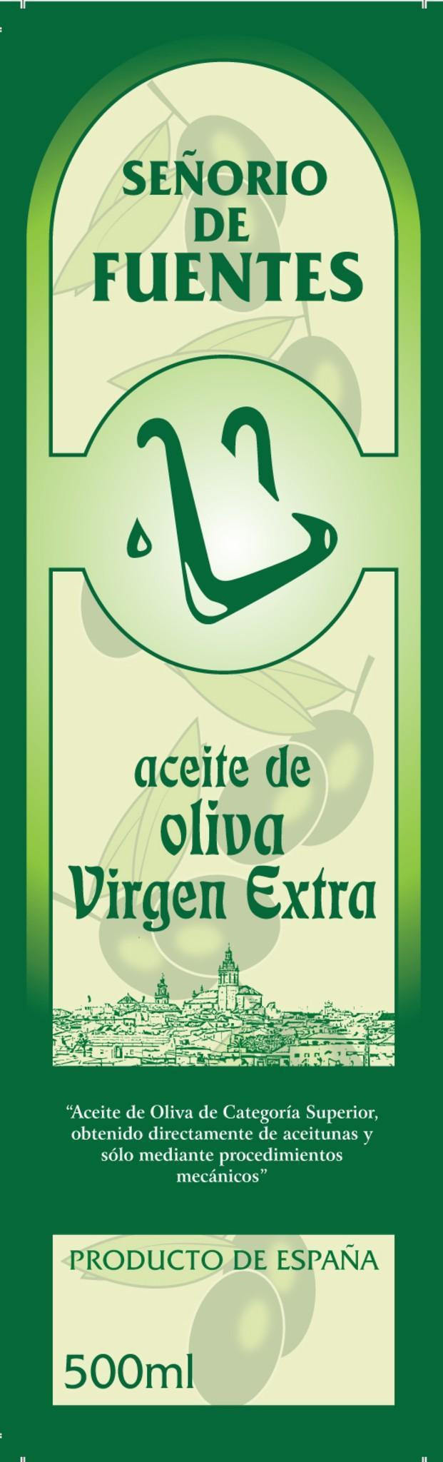 Aceite de Oliva en Monodosis.Envase de 500 ml