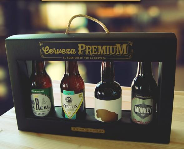 Cerveza Artesanal.Estuche regalo para tiendas especializadas/gourmet