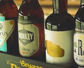 Cervezas premium. Cervezas artesanales españolas premium