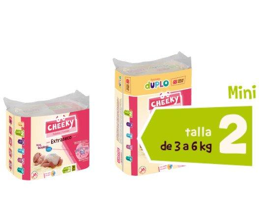 Productos para Cuidado del Bebé. Pañales para Bebés. Midi: de 3 a 6 kg.