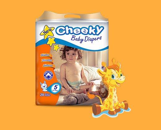 Cheeky 5. Para niños de entre 13 y 18 Kg
