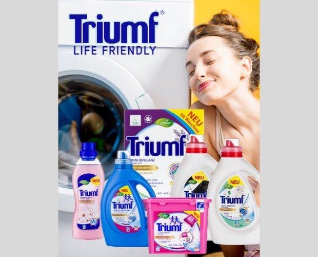 TRIUMF. Limpia tu hogar con productos Triumf