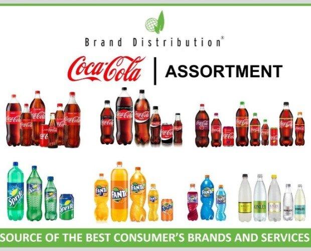 COCA COLA. Disponemos de refrescos de marcas clásicas: Sprite, Cola-Cola, Fanta...