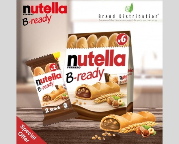 NUTELLA B-READY. Chocolatinas de Nutella