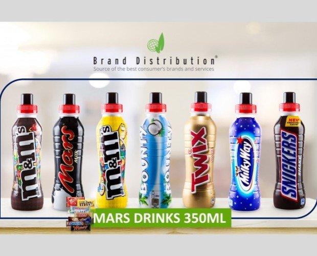 BEBIDAS MARS. Bebidas con sabores a chocolatinas