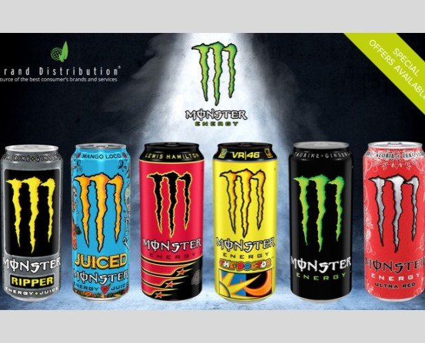 MONSTER. Bebidas energéticas Monster