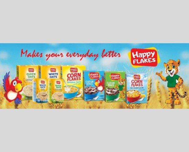 HAPPY FLAKES CEREALES. Cereales para el desayuno