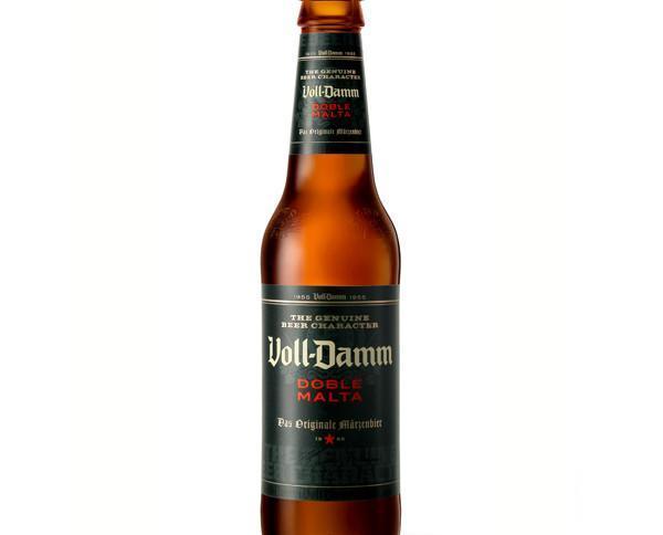 Cerveza voll-damm. Cerveza voll damm cristal.