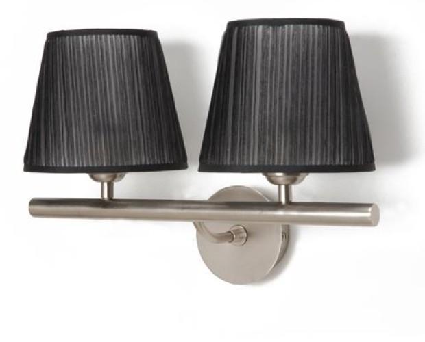 apliques metálicos. lámparas de metal