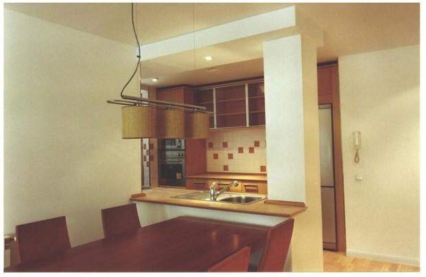 Apartamento en Valdemoro. Cocina y comedor comunicados