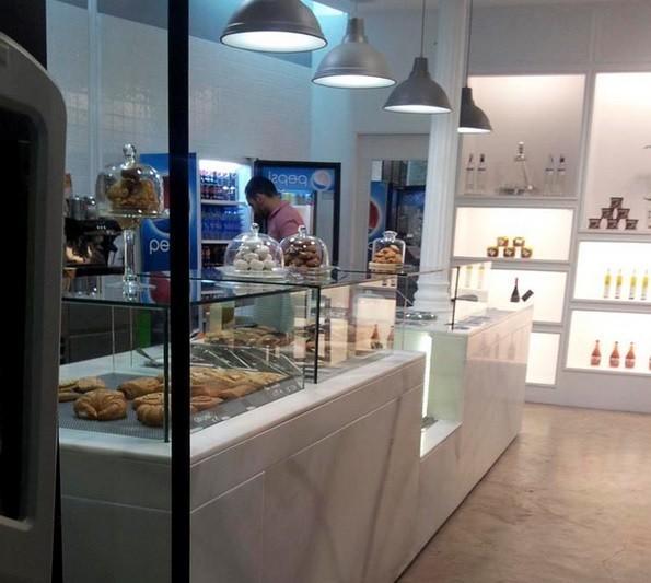 Panadería. Decoración e interiorismo en panadería gourmet
