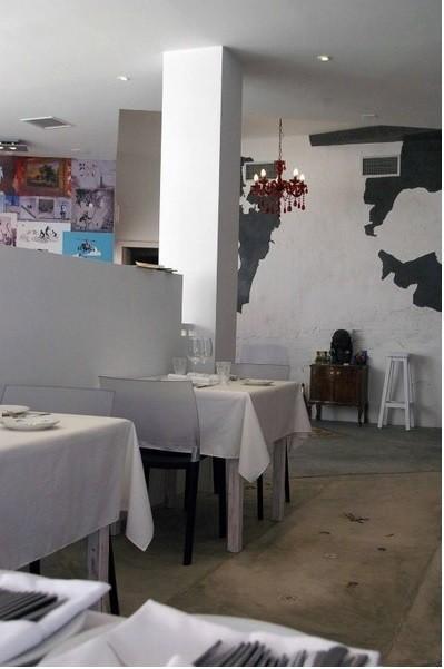 Restaurante. Interiorismo de restaurante La Sopa Boba