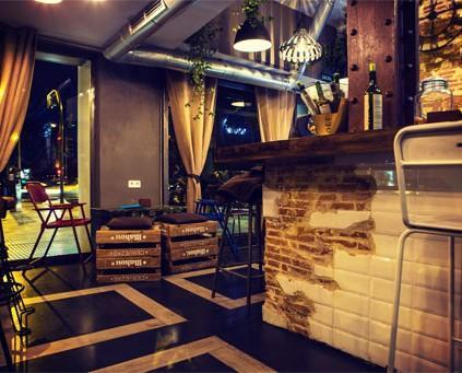 Nonina. Proyecto de interiorismo y decoración de restaurante. Vintage, industrial