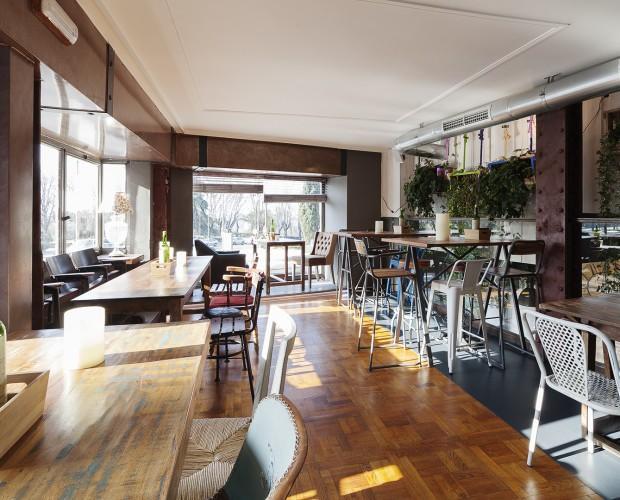 restaurante Noniná. Proyecto de interiorismo y decoración de restaurante. Vintage, industrial
