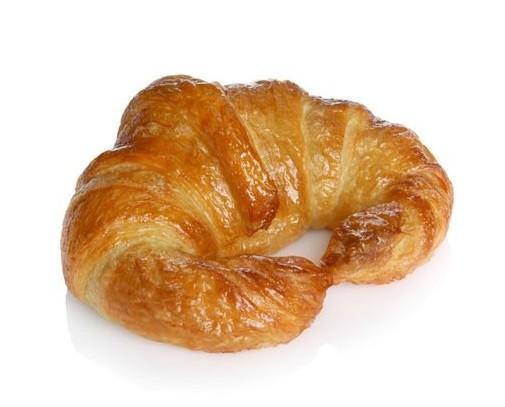 Croissants. Variedad de tamaños, también rectos y con relleno