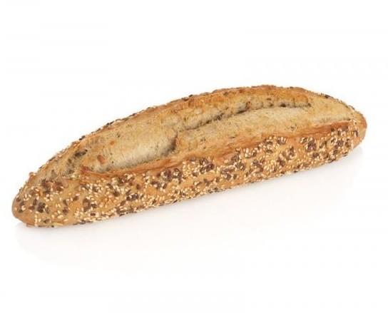 Pan alemán con semillas. Barra de pan alemán con semillas de 210 gr