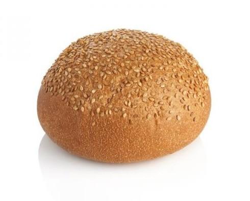 Pan de hamburguesa. Pan de hamburguesa con sésamo de 80 gramos