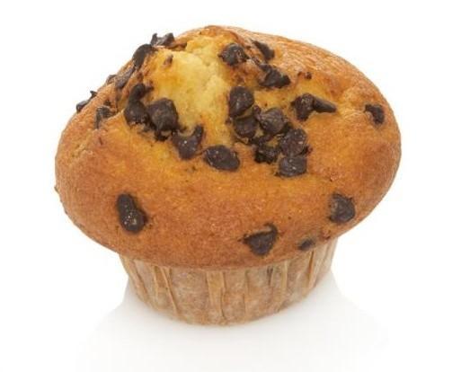 Muffin de chocolate. Munffins de varios sabores, peso 85 gramos