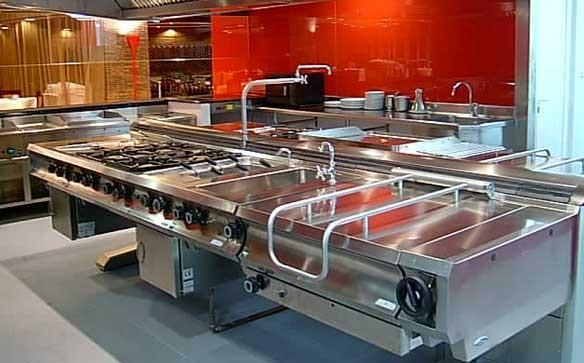 Cocinas Industriales. Cocinas industriales y barbacoas