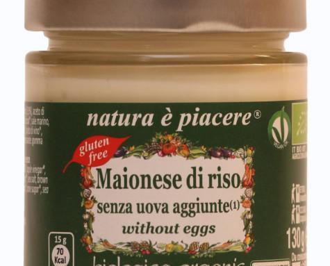 Mayonesa de arroz. Rico sabor con esta salsa vegana: mayonesa de arroz.