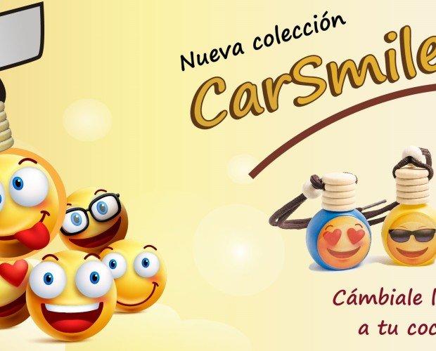 CarSmilecurt. inspirado en emoticonos de moda