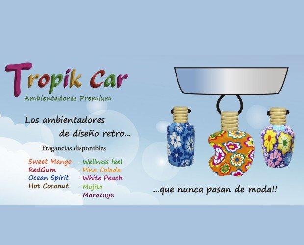 Tropikcarcurt. sweet mango, red gum, ocean spirit, piña colada, mojito, maracuya, white peach, hot coconut.