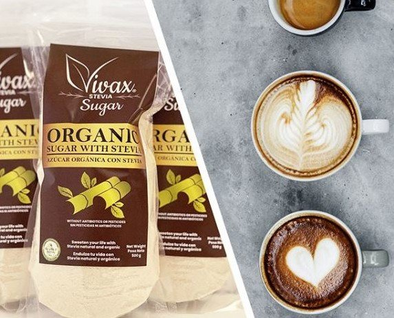 Azúcar+café. Azúcar ecológico