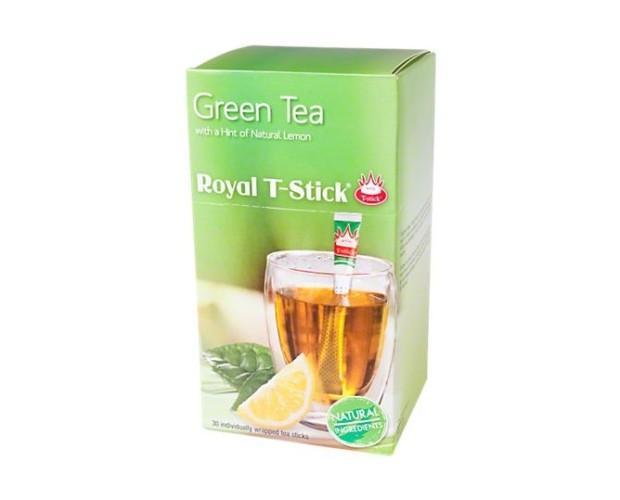 Green Tea. Green tea Royal Stick con limón