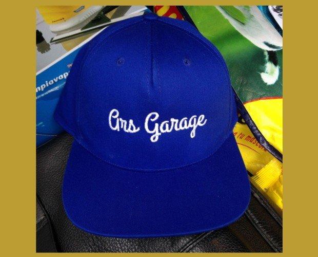 Bordado en gorras. Bordados y logos de todos los estilos