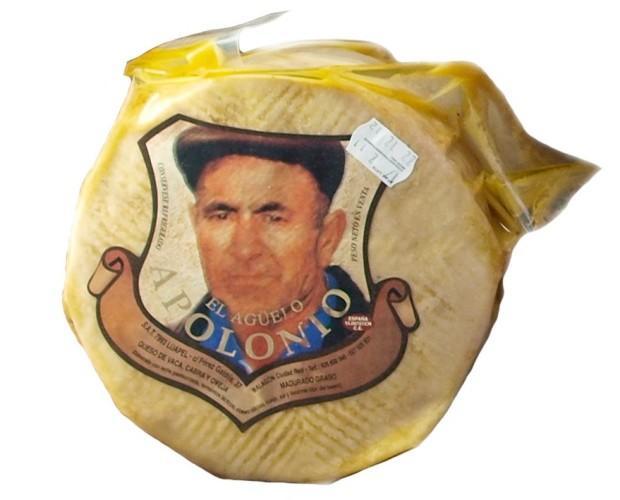 Don Apolonio Mezcla. Reputado queso manchego mezcla en aceite