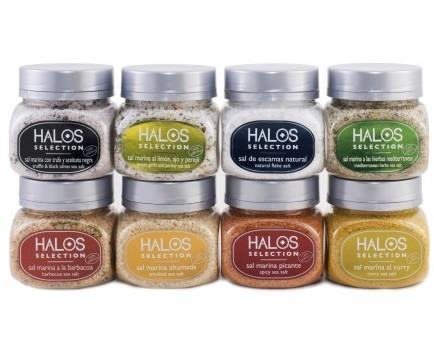 Sal Halos. Sales aromatizadas de producción sevillana