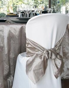 Fundas para sillas. Textil para hostelería