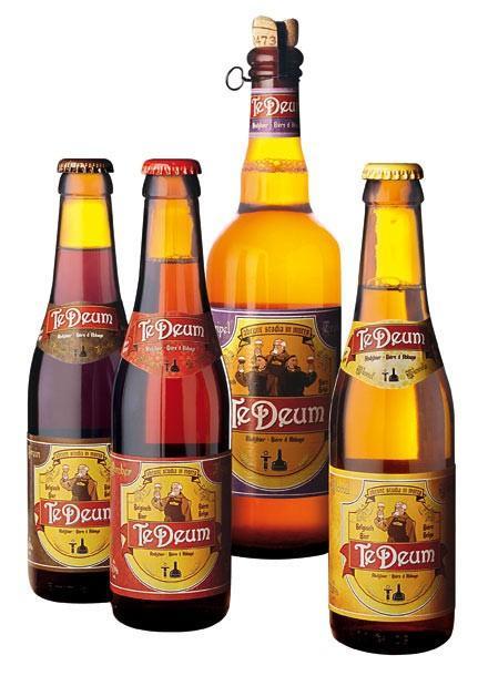 Cerveza. Una de nuestras marcas, Te Deum
