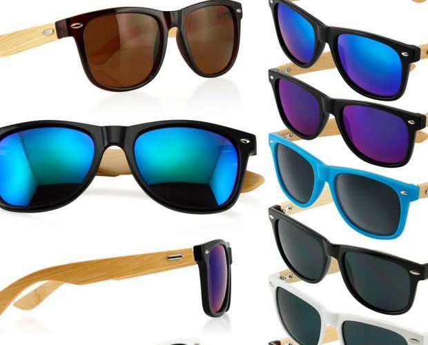 Gafas de madera. Gafas de bambú. Directo de fábrica