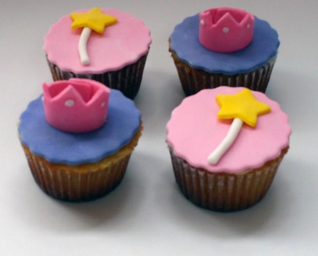 Cupcakes. Cupcakes de princesas