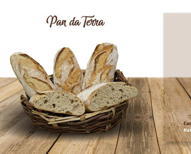 Pan da Aboa. Pan de terra